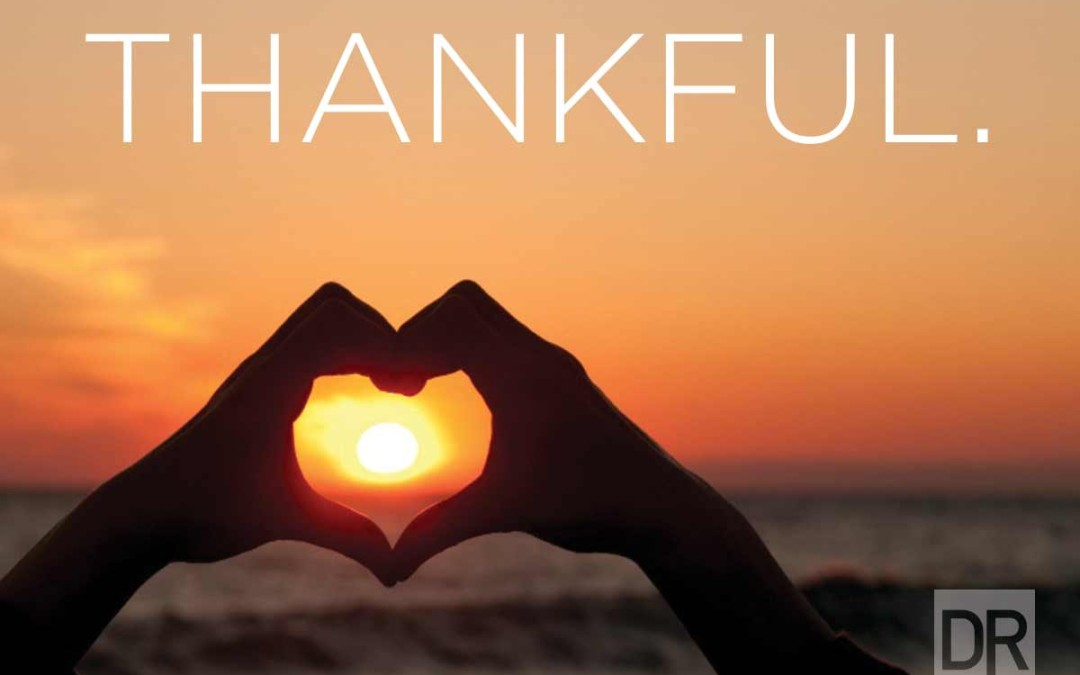 So Much to be Thankful For.