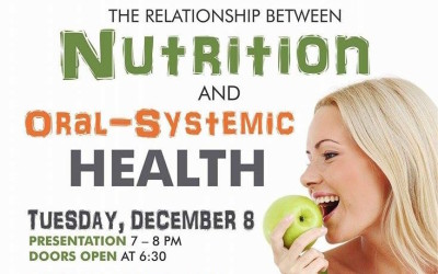 Connecting Nutrition & Oral-Systemic Health