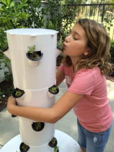 The Robertsons love their new Tower Garden